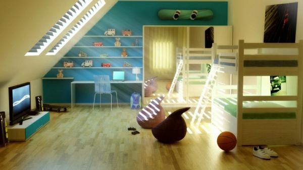 lits-superposés-chambre-d'enfants-exceptionnelle