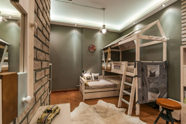 lits-superposés-chambre-d'enfants-originale