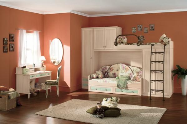 lits-superposés-chambre-d'enfants-vintage
