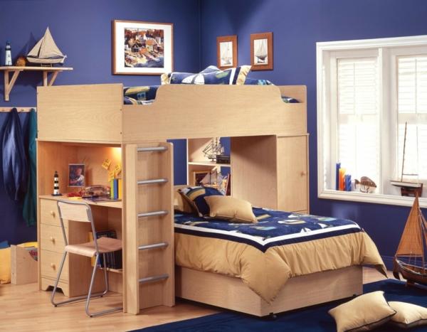 lits-superposés-décoration-à-thème-marin