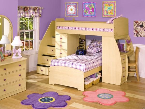 lits-superposés-dans-une-chambre-de-fille