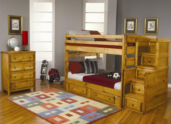 lits-superposés-design-classique-en-bois