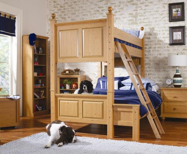 lits-superposés-design-simple-en-bois