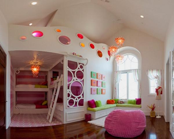 L\'arrangement des lits superposés dans la chambre d\'enfant ...