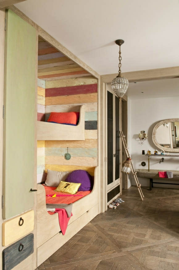 lits-superposés-lits-loft-intégrés-éléments-vintage