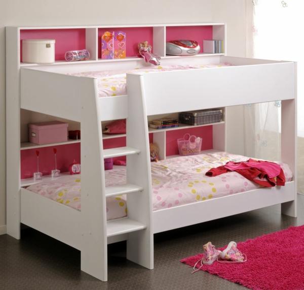 lits-superposés-tapis-rose-un-design-superbe-de-lits-loft