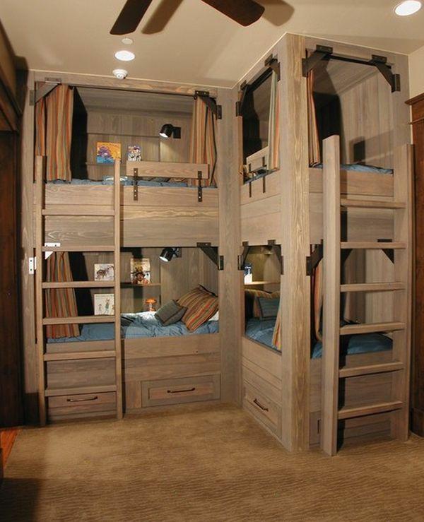 lits-superposés-un-design-magnifique-en-bois