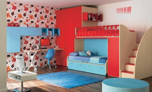 lits-superposés-une-chambre-d'enfants-unique