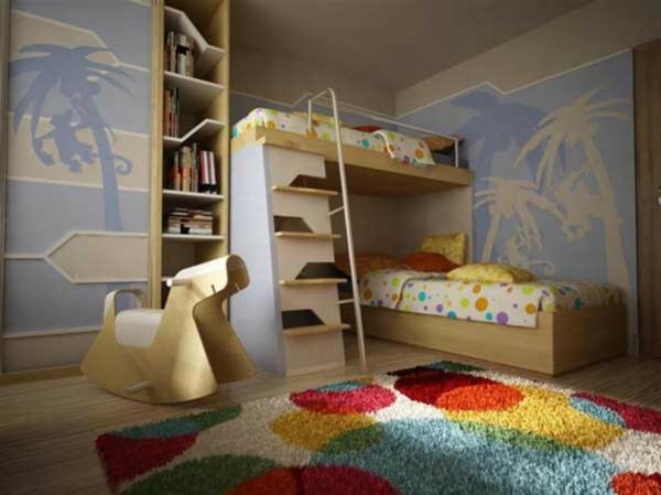 lits-superposés-unique-chambre-d'enfants