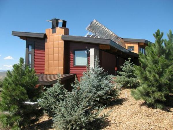 maison-passive-collecteurs-d'énergie-solaire