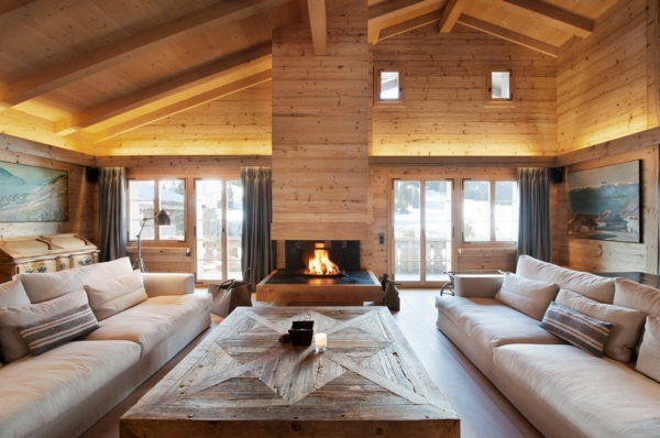 Beautiful interieur chalet photos design trends 2017 shopmakers us