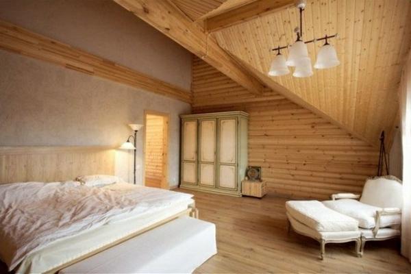 La menuiserie int rieure et les chalets du monde for Chambre a coucher moderne en bois