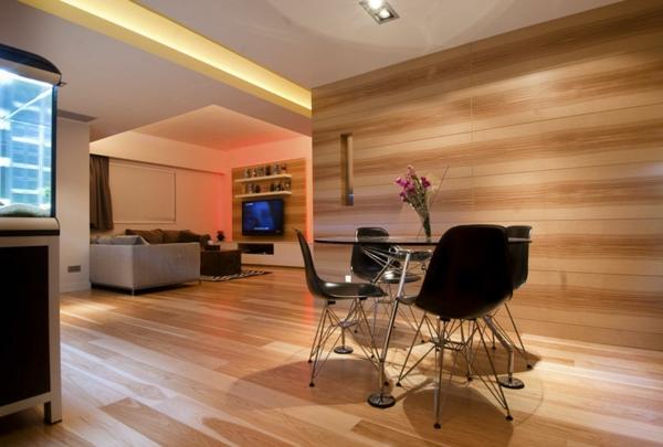 La menuiserie int rieure et les chalets du monde for Cloison en bois interieur