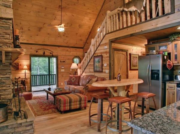 La menuiserie int rieure et les chalets du monde for Interieur maison bois