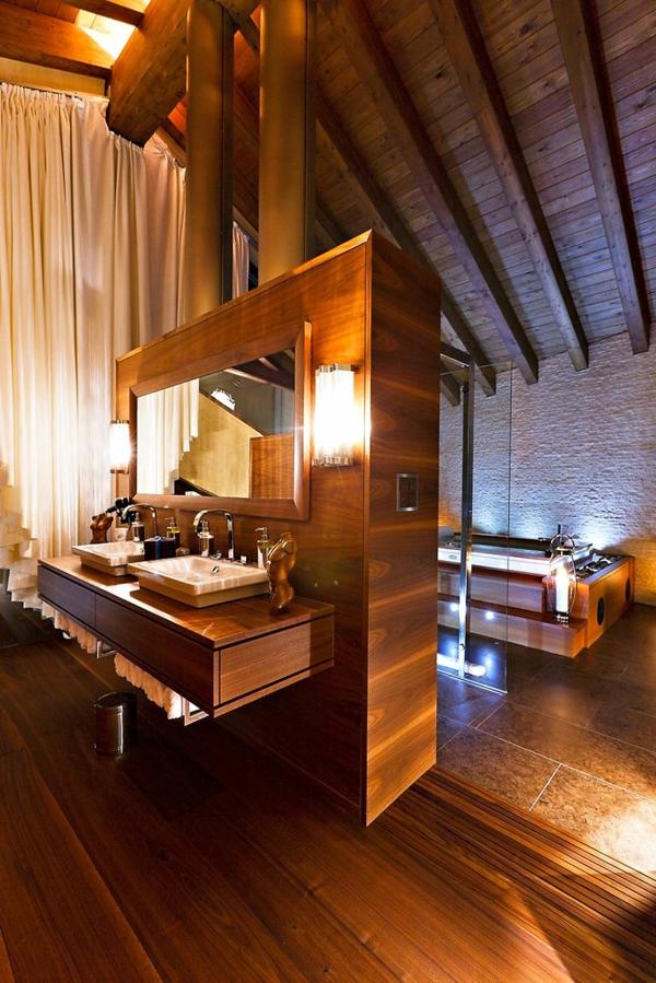 menuisierie-intérieure-uique-salle-de-bain-impressionnante-en-bois