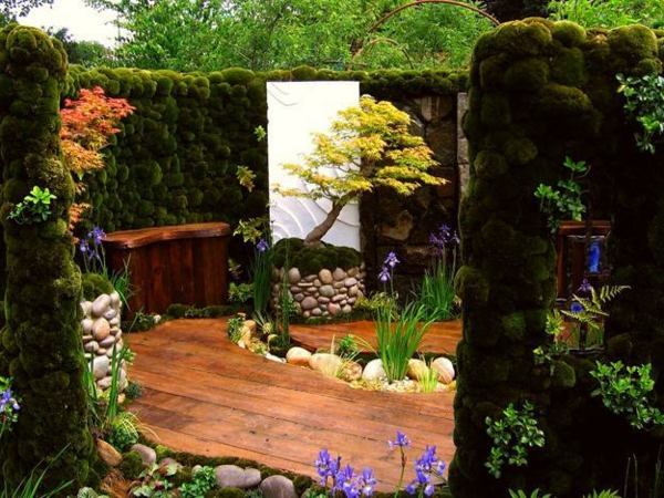Best idee jardin japonais miniature contemporary awesome interior home satellite for Idee jardin japonais miniature