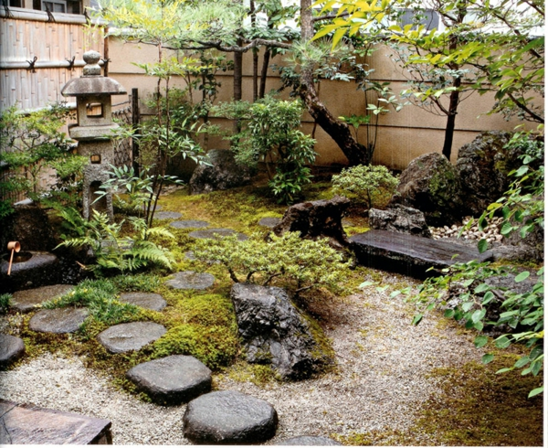 Le mini jardin japonais - su00e9ru00e9nitu00e9 et style exotique
