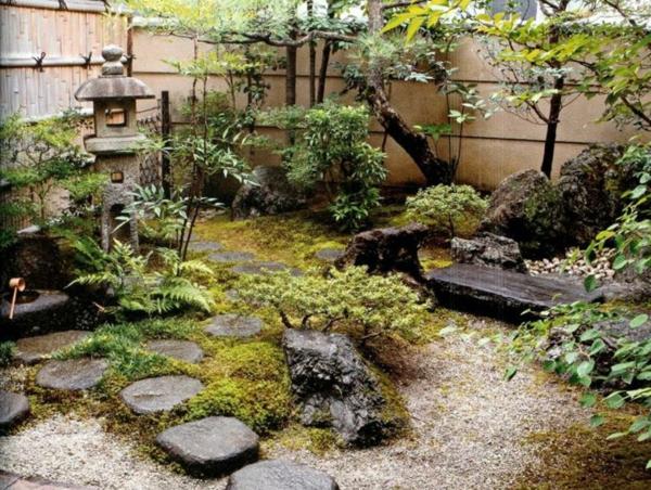 Le mini jardin japonais s r nit et style exotique - Jardin japonais mousse ...