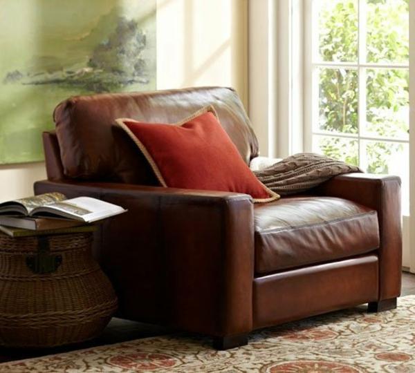 Original idée pour votre salon avec le style une classique fauteuil club
