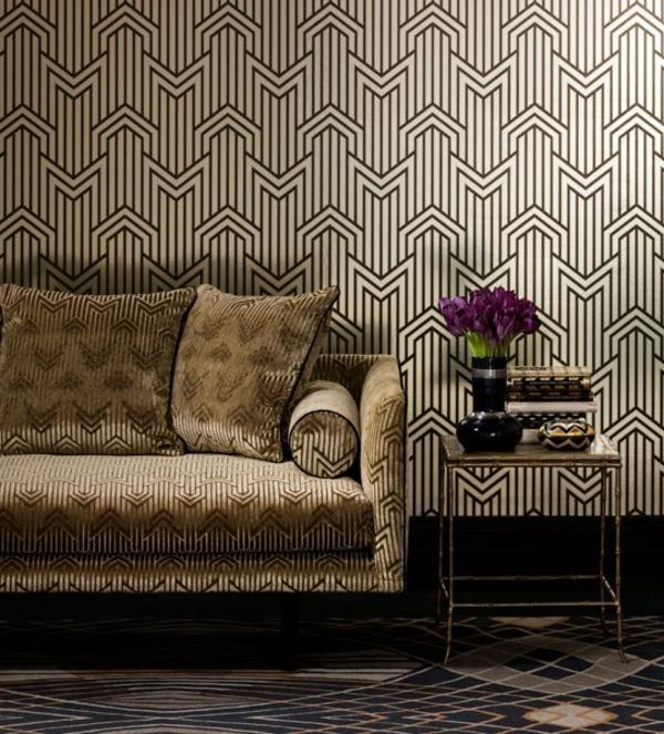papier-peint-graphique-et-un-sofa-graphique