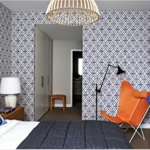 Le papier peint graphique - décoration unique pour l'intérieur