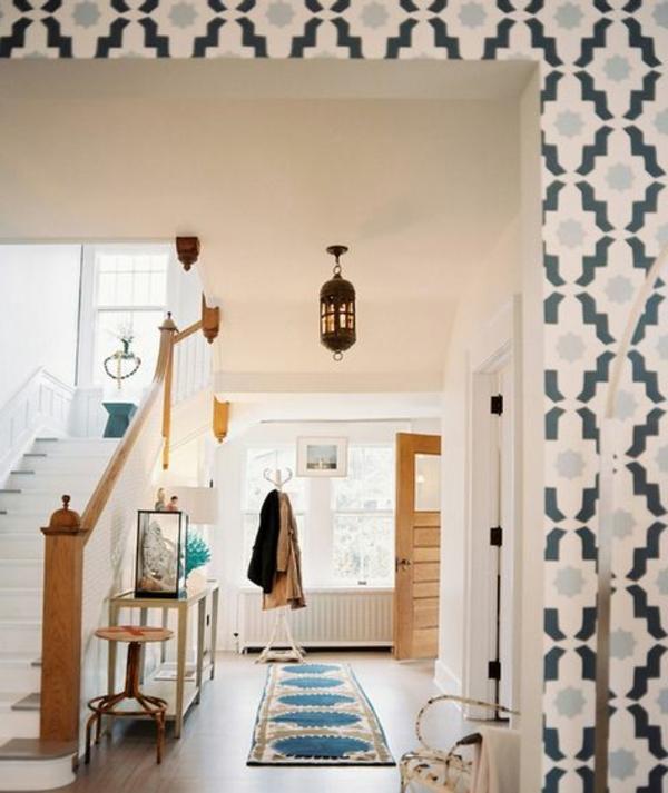 papier-peint-graphique-intérieur-scandinave