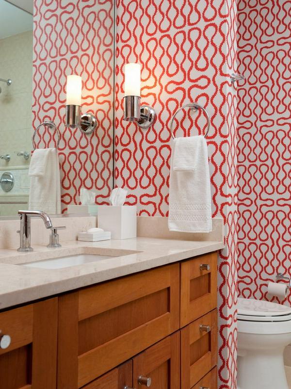 papier-peint-graphique-original-dans-la-salle-de-bains