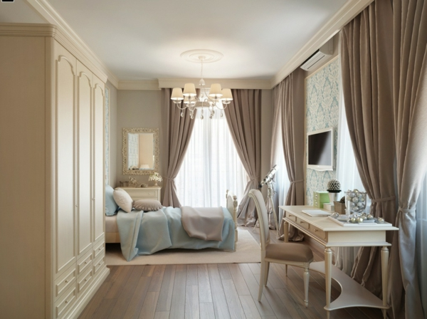 small bedroom curtain ideas la peinture taupe 233 l 233 gance pour l int 233 rieur archzine fr 17121