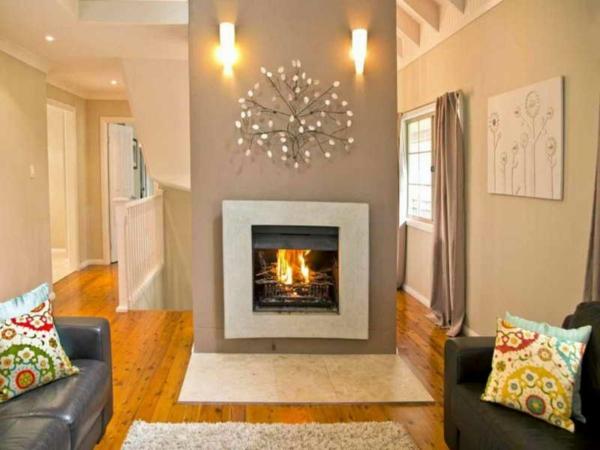 peinture-taupe-foyer-moderne-sofas-en-cuir