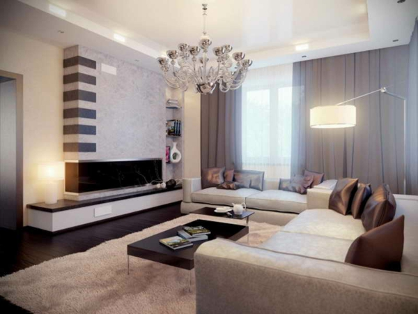 Salle De Bain Turquoise Et Noir : Grey and Brown Living Room Ideas
