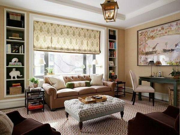 La peinture taupe l gance pour l 39 int rieur - Salon brun et beige ...