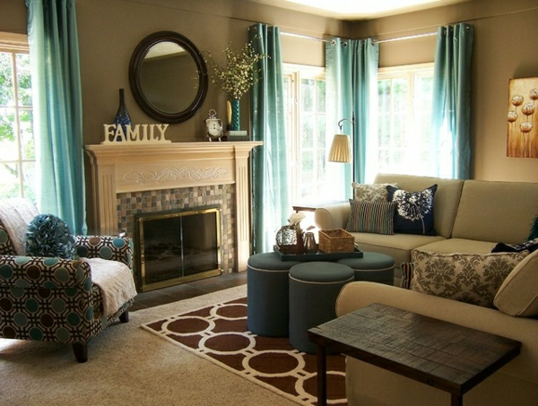 What Wall Color Goes Best With A Brown Couch