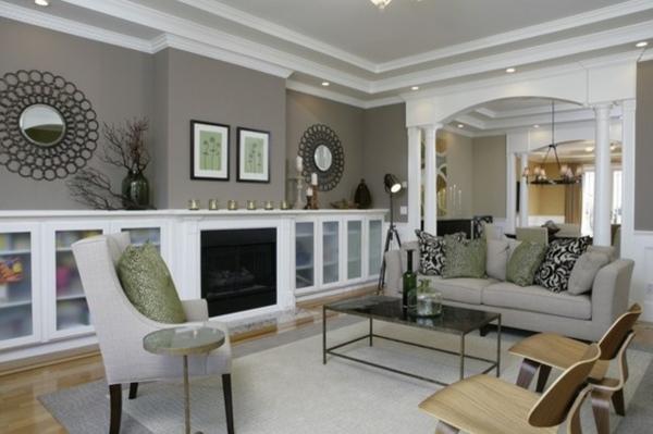 Deco Chambre A Coucher Peinture : la peinture taupe dans l'intérieur contemporain, un taupe associé au …