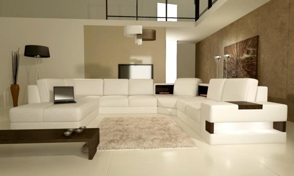 des sofas modernes modulaires et une peinture taupe de salon peinture moderne pour salon marocain - Peinture Moderne Pour Salon Marocain