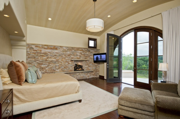la pierre naturelle pour linterieur interieurs cosy et chaleureux - Deco Chambre A Coucher Cosy