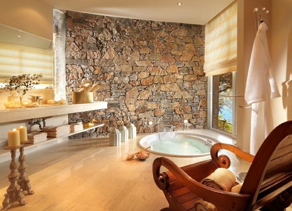 La pierre naturelle pour l 39 int rieur int rieurs cosy et for Salle de bain zen et naturelle