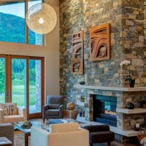 La pierre naturelle pour l'intérieur - intérieurs cosy et chaleureux
