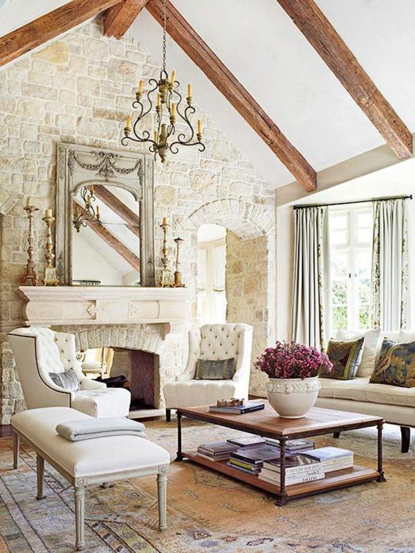 pierre-naturelle-pour-l'intérieur-salon-rustique