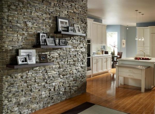 La pierre naturelle pour l 39 int rieur int rieurs cosy et for Faux mur en pierre interieur