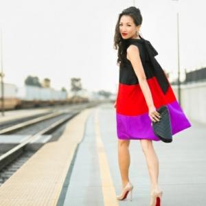 La robe trapèze - mariage de style et de confort