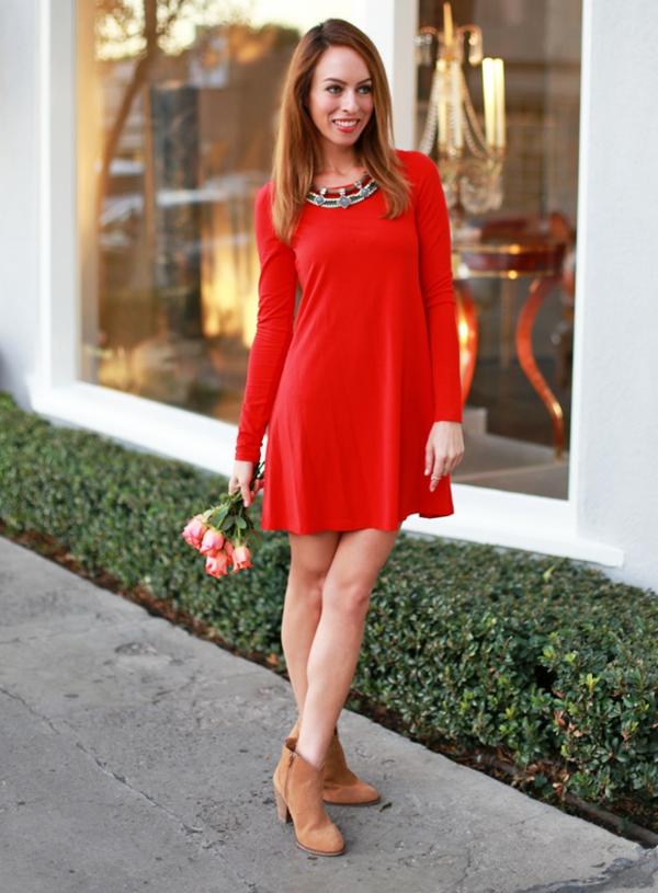 robe-trapèze-une-robe-rouge