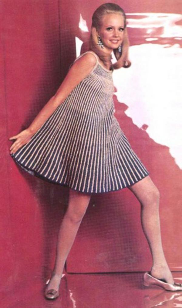 robe-trapèze-vintage