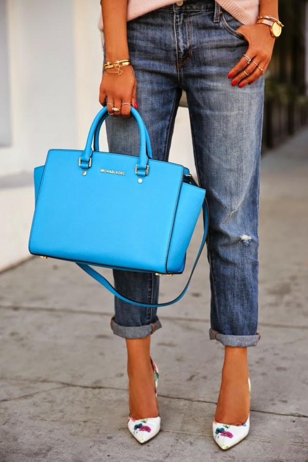sac-à-main-michael-kors-modèle-bleu-magnifique