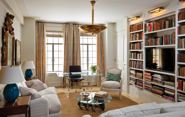 style-art-déco-appartement-en-marron-et-blanc