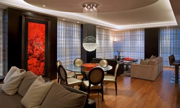 style-art-déco-appartement-luxueux-un-luminaire-globe-pendant