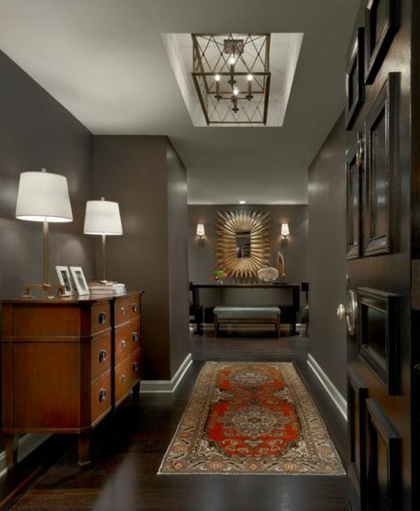 style-art-déco-intérieur-en-taupe-couloir-élégant