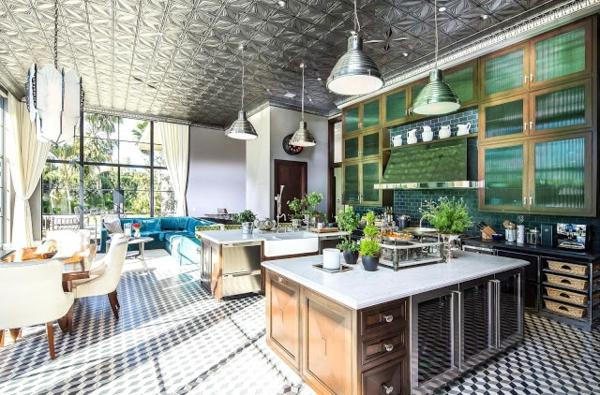 style-art-déco-intérieur-spacieux-tapis-géométrique