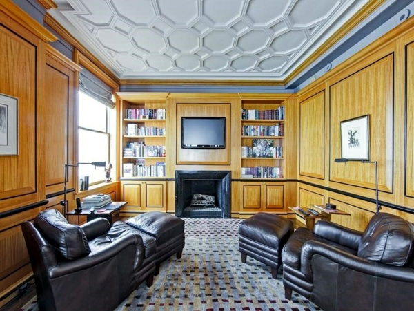 style-art-déco-salle-de-séjour-accueillante