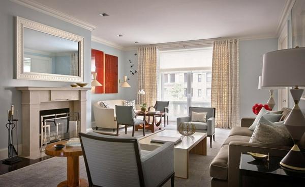 Le style art d co dans l 39 int rieur - Deco appartement duplex contemporain ...