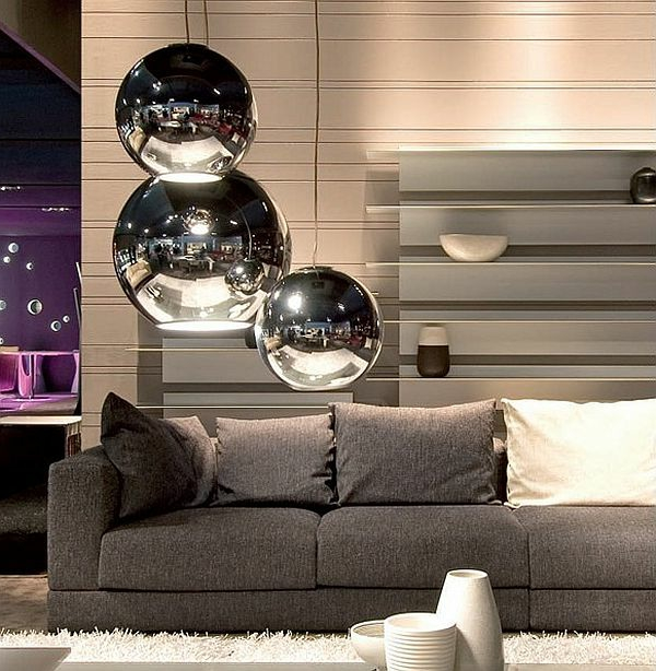 suspension-boule-lampes-pendantes-lumineuses